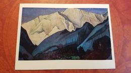 "Nicholas Roerich - ""Santana""   HIMALAYA - Old USSR PC 1980 Rare Edition - Tibet"