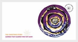 Alderney - Postfris / MNH - FDC Sheet Kerstmis 2019 - Alderney