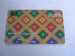 BRUNEI Used  Autelca Card  MUDAH & MURAH - Brunei