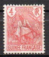 Col17  Colonie Guinée N° 20 Neuf (X) No Gum Cote 2,00€ - Guinée Française (1892-1944)