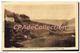 CPA Saint Jouin Bruneval Le Clocheton Et La Descente - France