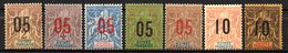 Col17  Colonie Guinée N° 48 à 54 Neuf X MH Cote 30,00€ - Neufs