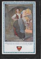 AK 0381  Von Allen Den Mädchen So Blink Und Blank - Deutscher Schulverein Um 1917 - Musik Und Musikanten