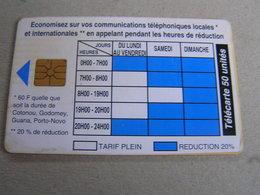BENIN  Used Chipcard - Benin