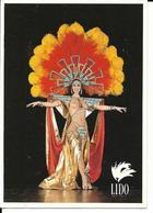 PARIS - CHAMPS ELYSEES LIDO Le Plus Célèbre Cabaret Du Monde, Superbe Costume à Plumes Cpm - Champs-Elysées