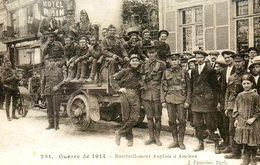 Guerre 14 18 : Ravitaillement Anglais à Amiens (80) - Guerra 1914-18