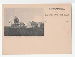 PLOGOFF CAP SIZUN HOTEL DE LA POINTE DU RAZ /FREE SHIPPING REGISTERED - Plogoff