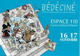 BÉDÉCINÉ 2019 - ILLZACH Natacha, Tintin, Astérix, Cubitus Et Bien D'autres.... 35e Festival De Bande Dessinée - Fumetti