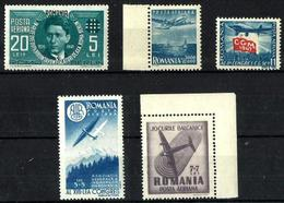 Rumanía Correo Aéreo Nuevo. Cat.11,50€ - Airmail