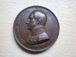 """Médaille Leopold Premier Roi Des Belges. """"La Belgique Gardera Son Indépendance Et Sa Nationalité"""" - Otros"""