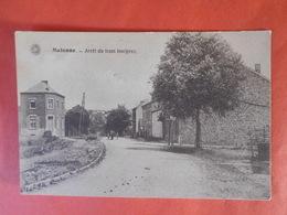 Malonne Vers 1910/20  Arrêt Du Tram Inséprez - Namur