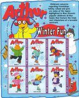 Antigua & Barbuda - ARTHUR COMICS / WINTER SPORT / BASEBALL 2004 MNH - Antigua Und Barbuda (1981-...)