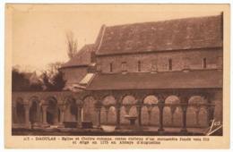 DAOULAS Eglise Et Cloître Romans - Daoulas