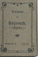 BEYROUTH / Syrie (Empire Ottoman, Avant 1914/18) : Dépliant 10 Vues. - Tourism Brochures