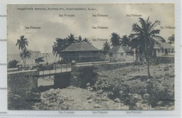 West Indies Montserrat Houston's Bridge Plymouth 1910s-20s WH Irish D Hope Published - Antilles