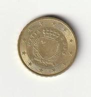 MONETA DA 0,10 EURO DEL 2008 - Malta