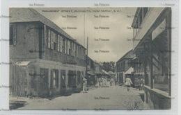 West Indies Montserrat Parliament Street Plymouth 1910s-20s WH Irish D Hope Published - Antilles