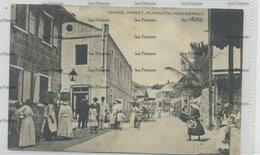 West Indies Montserrat George Street Plymouth 1910s-20s WH Irish D Hope Published - Antilles