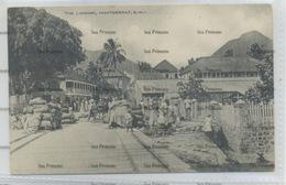 West Indies Montserrat The Landing Plymouth 1910s-20s WH Irish D Hope Published - Antilles