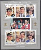 GUERNSEY  Block 3, Postfrisch **, Hochzeit Von Prinz Charles Und Lady Diana Spencer, 1981 - Guernsey