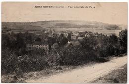 Montmoyen : Vue Générale Du Pays (Editeur Mme Marcillet) - Autres Communes