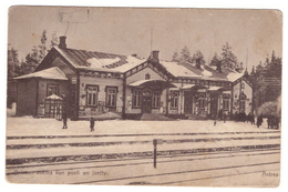 Finland,Russia,Antrea,Kamennogorsk,Karelia,Railway Station,2 Scans - Finland