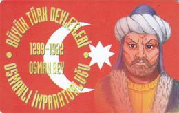 TURKEY - Osmanli Empire 1299-1922 Ad Founder Osman Bey ,Chip OR04 (Module 37) , 100 Unit ,used - Türkei
