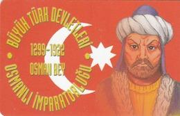 TURKEY - Osmanli Empire 1299-1922 Ad Founder Osman Bey ,Chip CHT17 , 100 Unit ,used - Türkei