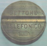 GETTONE TELEFONICO TALIANO - ESM 7912 - Italia