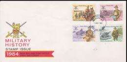 New Zealand 1984 FDC Military History (NB**LAR8-69) - Militaria