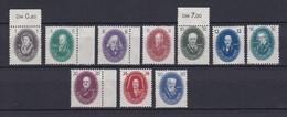 DDR - 1950 - Michel Nr. 261/270 - OR - Postfrisch - 159 Euro - DDR