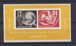 DDR - 1950 - Michel Nr. Block 7 - Ungebr. - 40 Euro - DDR