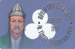TURKEY - Gt. Timur Empire 1368 - 1501 AD Founder TIMUR ,Chip CHT08 , 50 Unit ,used - Türkei