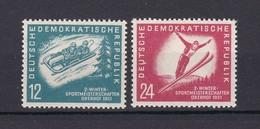 DDR - 1951 - Michel Nr. 280/81 - Postfrisch - 20 Euro - DDR