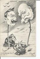 Guerre 1914-1918 - Carte Satirique  -  Guillaume II - Documents Historiques