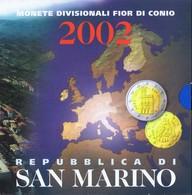 San Marino Euro Coinset 2002 - San Marino