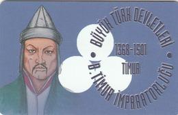 TURKEY - Gt. Timur Empire 1368 - 1501 AD Founder TIMUR ,Chip CHT17 , 50 Unit ,used - Türkei