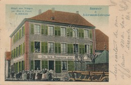I191 - 67 - SCHIRMECK-LABROQUE - Bas-Rhin - Hôtel Des Vosges - Ancien Hôtel De France - G. Hissler - Schirmeck
