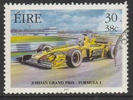 Ireland 2001 Irish Motorsport 30/38 P/C Multicoloured SW 1324 O Used - Used Stamps