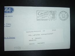 LETTRE PORT PAYE OBL.MEC.14-5 1983 PP 44 NANTES PREFECTURE Collectionnez Les TIMBRES-POSTE - Marcophilie (Lettres)