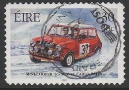 Ireland 2001 Irish Motorsport - Self-Adhesive Stamps 30/38 P/C Multicoloured SW 1331 O Used - Used Stamps