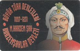 TURKEY - Harzemsah State 1097 - 1231 Ad Founder M.Harzem Sah ,Chip CHT17 , 100 Unit ,used - Türkei