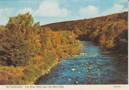 Postcard - Sutherland - The River Shin Nr Shin Falls - Card No..4591w Unused Very Good - Postcards