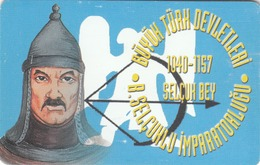 TURKEY - Great Seldjuk Empire 1040 - 1157 AD Founder SELÇUK BEY ,Chip CHT08 , 50 Unit ,used - Türkei