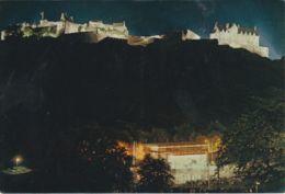 Postcard - Edinburgh Castle And Princes Street Gardens Card No.4158 Unused Very Good - Postcards