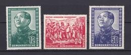 DDR - 1951 - Michel Nr. 286/288 - Ungebr. - 100 Euro - DDR