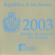 San Marino Euro Coinset 2003 - San Marino