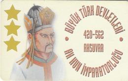 TURKEY - White Hun Empire 420 - 562 AD Founder AKSUVAR ,Chip CHT08 , 100 Unit ,used - Türkei