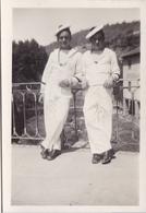 PHOTO ORIGINALE 39 / 45 WW2 MARINE FRANCAISE  FRANCE TOULON / OLLIOULE 1940 MARINS FRANÇAIS DU BATEAUX LE MARS - Guerre, Militaire