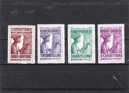 Nederlands Indië 1914 Internationaal Rubbercongres Tentoonstelling Batavia , - Niederländisch-Indien